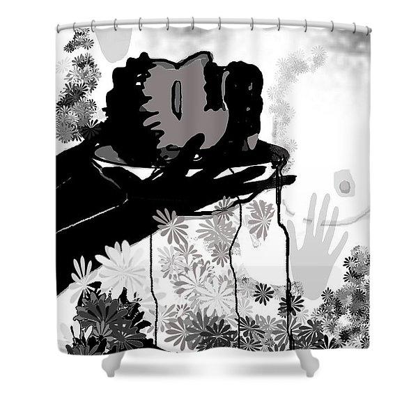 Salome Shower Curtain