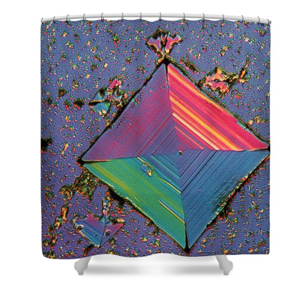 Salt Crystal Shower Curtain