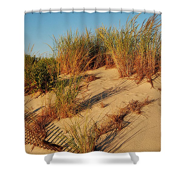 Sand Dune II - Jersey Shore Shower Curtain
