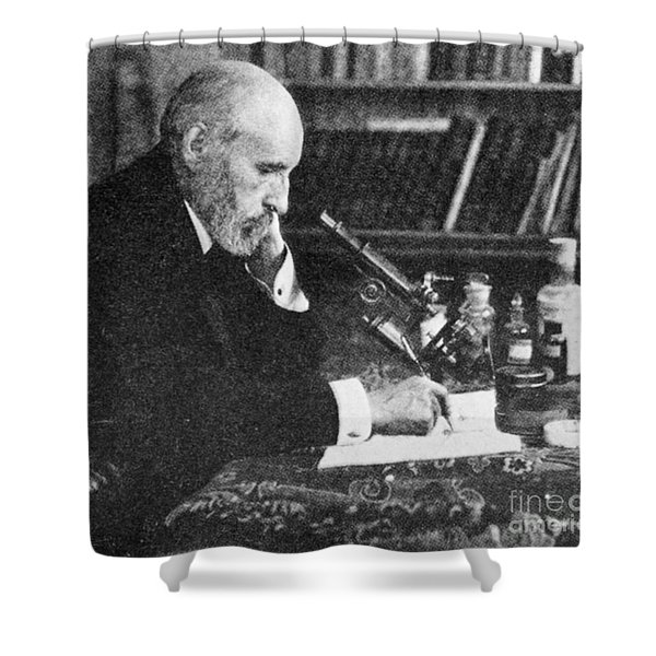 Santiago Ramon Y Cajal, Spanish Shower Curtain