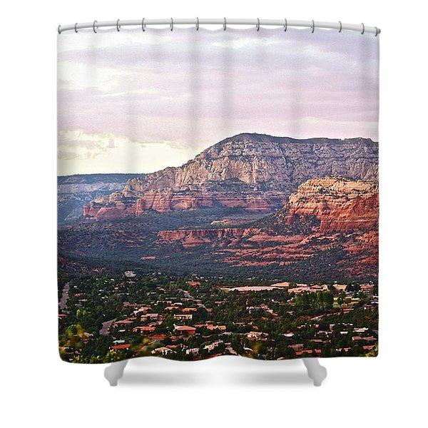 Sedona Evening Shower Curtain