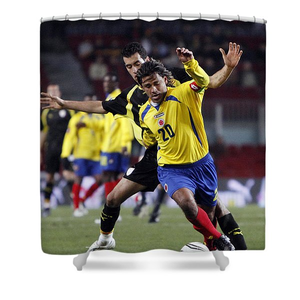 Shower Curtain featuring the photograph Carlos Busquets 2 by Agusti Pardo Rossello
