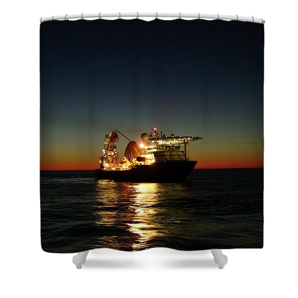 Seven Navica Just Before Dawn Shower Curtain