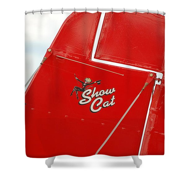 Show Cat Shower Curtain