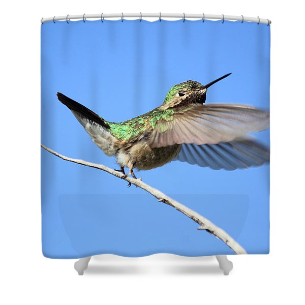 Showing My Beauty Shower Curtain