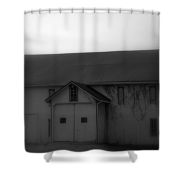 Shuttered Shower Curtain