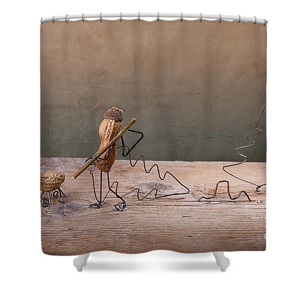 Simple Things - Christmas 02 Shower Curtain