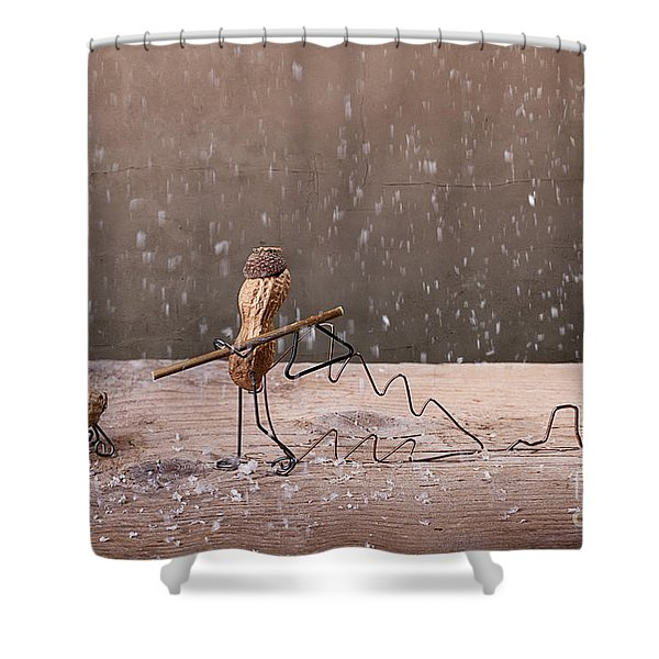 Simple Things - Christmas 03 Shower Curtain