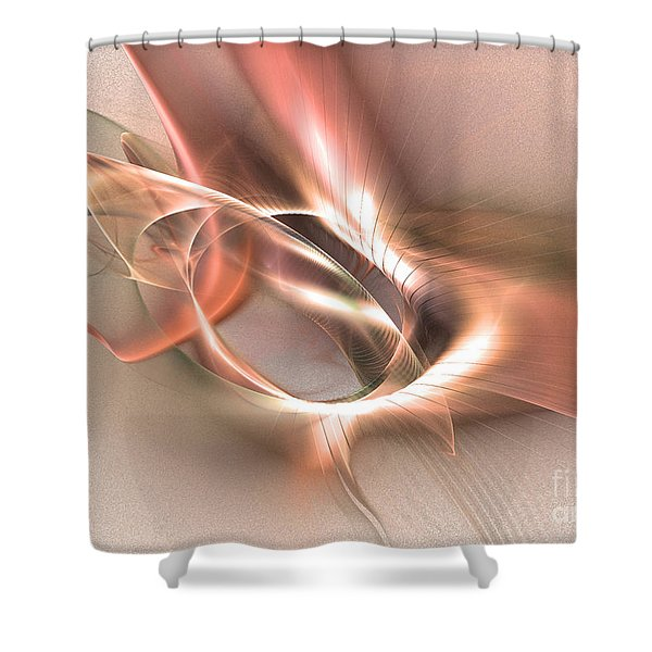 Sinuhe - Abstract Art Shower Curtain