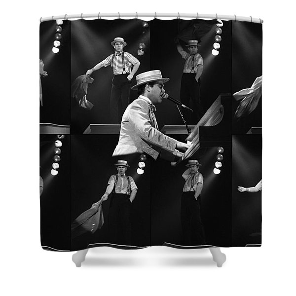 Sir Elton John 9 Shower Curtain