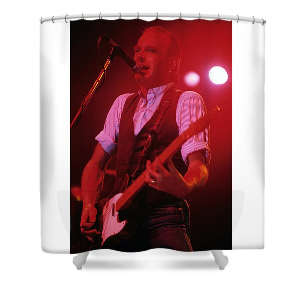 Sir Francis Rossi - Status Quo Shower Curtain