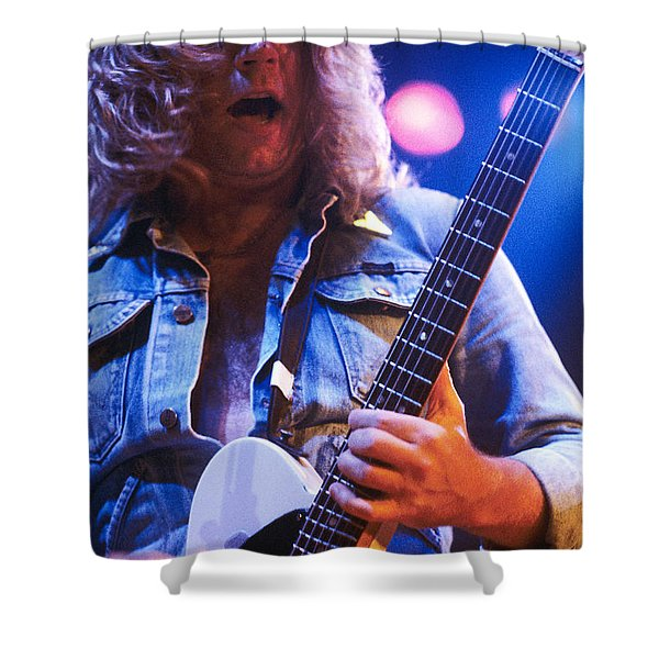 Sir Rick Parfitt - Status Quo Shower Curtain