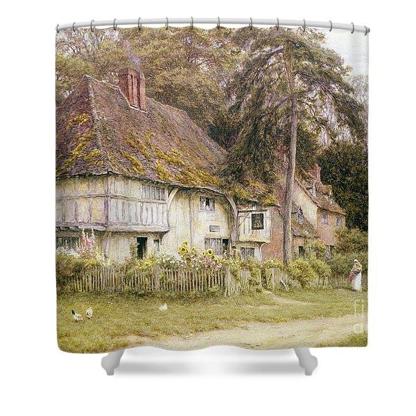Six Bells Hollingbourne Kent  Shower Curtain