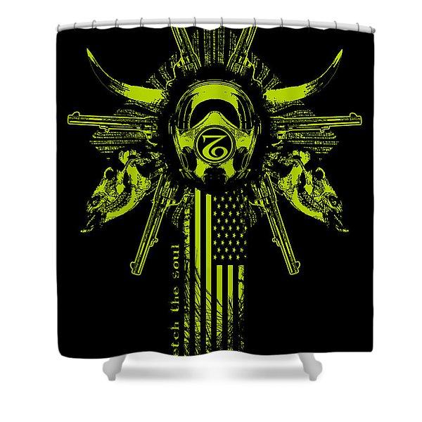 Six Shooter Shower Curtain