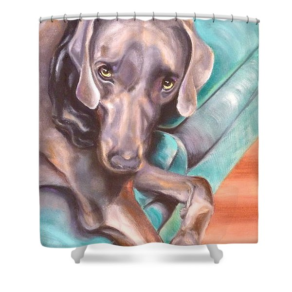 Sofa Serenade 1 Shower Curtain