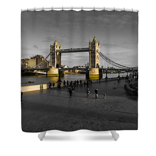 Southbank London  Shower Curtain