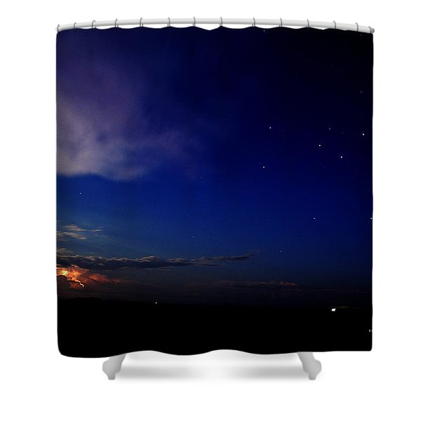 Southern Ocean Storm Shower Curtain
