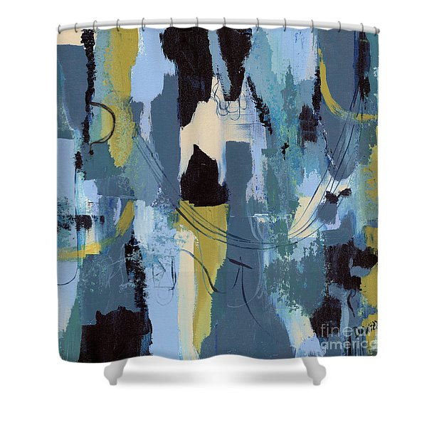 Spa Abstract 1 Shower Curtain