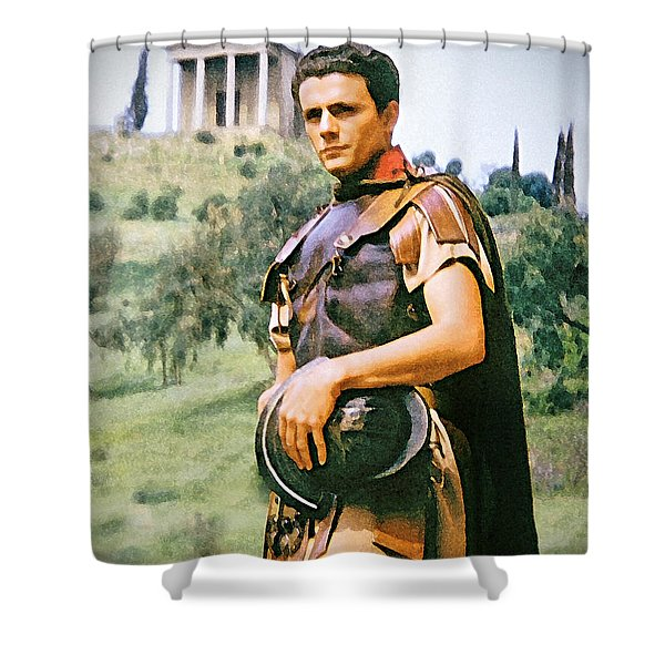 Spartacus Shower Curtain