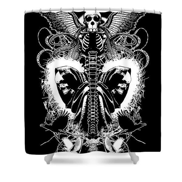 Spine Of Mine Shower Curtain