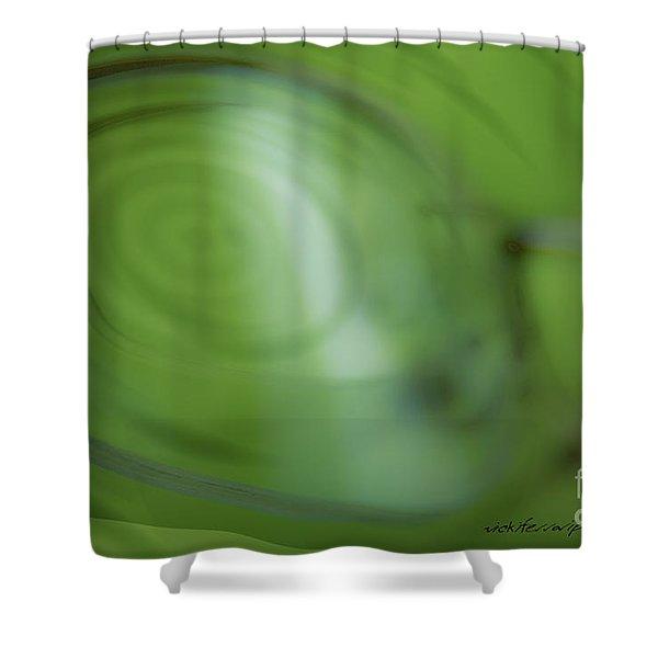 Spinner Vision Shower Curtain