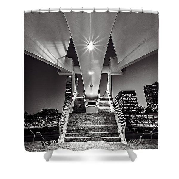 Stairs Of Art Shower Curtain