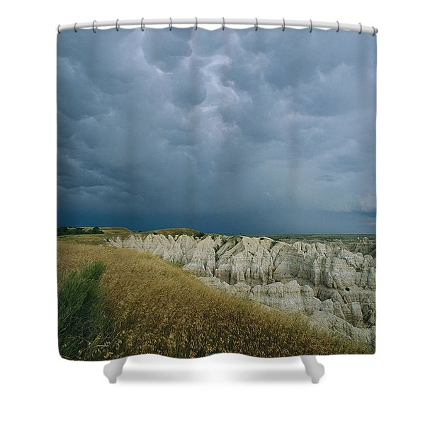 Storm Clouds Gather Over The Southern Shower Curtain