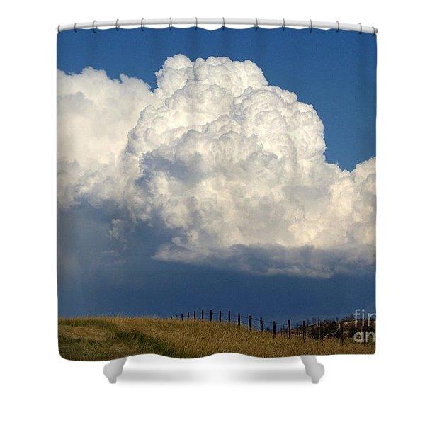Storm's A Brewin' Shower Curtain