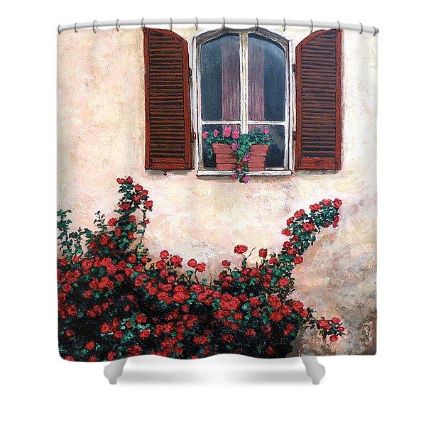 Studio Window Shower Curtain