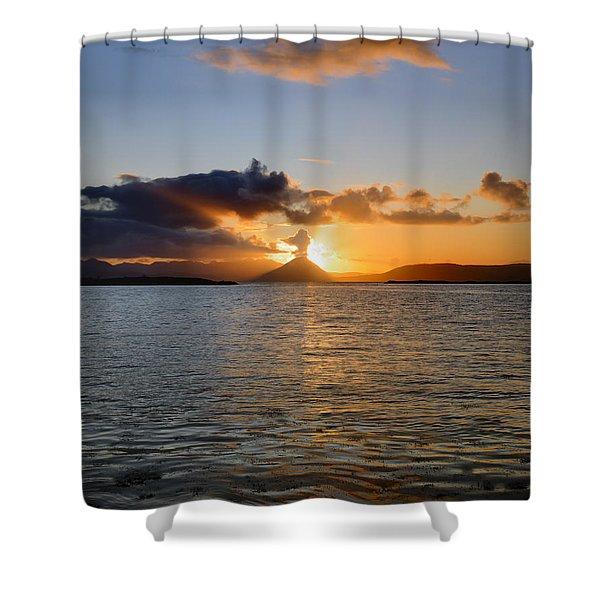 Sun Setting On Skye Shower Curtain