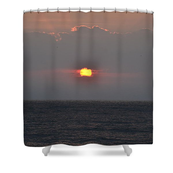 Sunrise In Melbourne Fla Shower Curtain