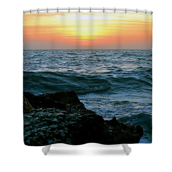 Sunset Captiva Shower Curtain