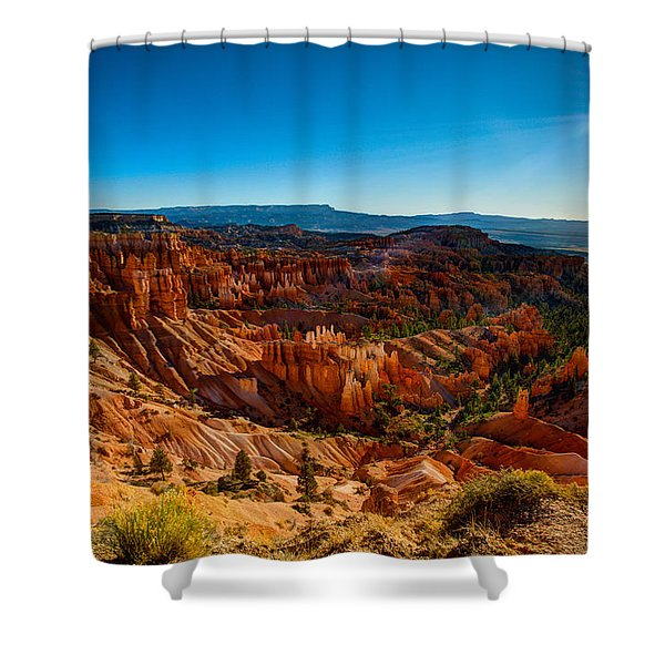 Sunset Sunrise Shower Curtain
