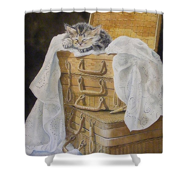 Sweet Dreams Sold  Shower Curtain