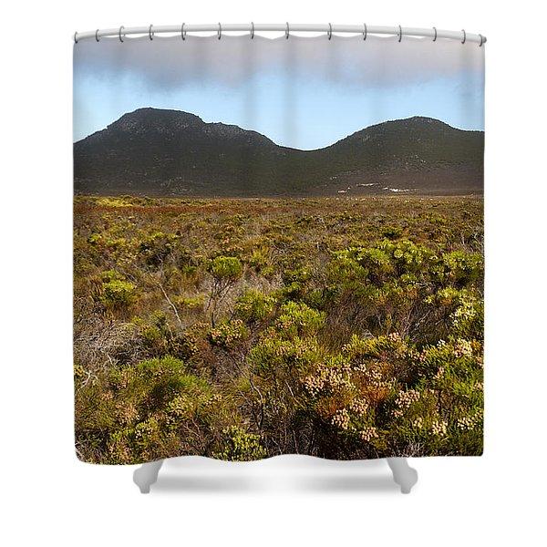 Table Mountain National Park Shower Curtain