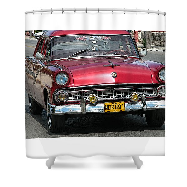 Taxi Shower Curtain