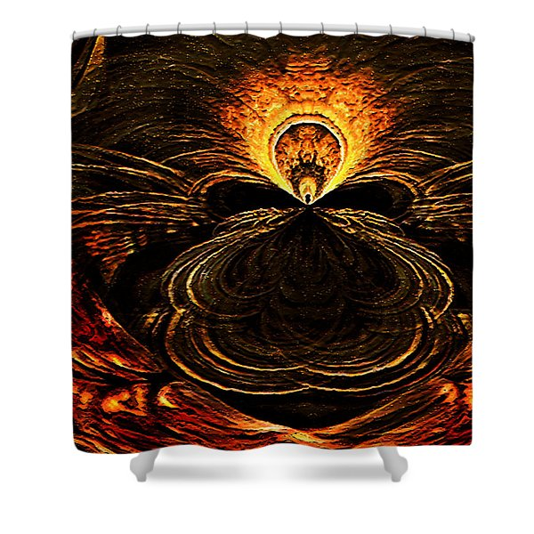 The Ah-hah Moment Shower Curtain