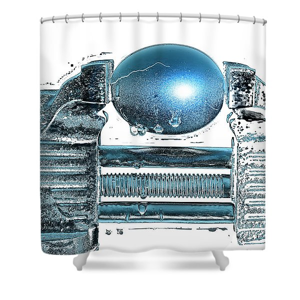 The Big Squeeze  Shower Curtain