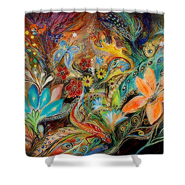 The Dance Of Lizards Shower Curtain