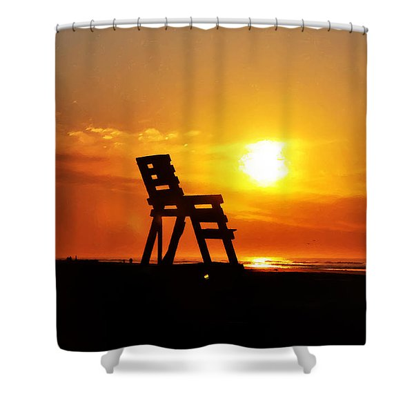 The End Of The Summer Shower Curtain
