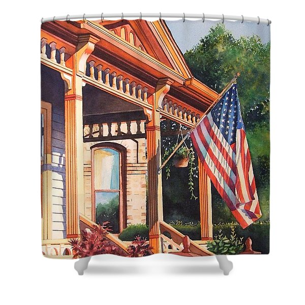 The Founders Home Shower Curtain
