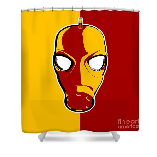 The Gas Man  Shower Curtain