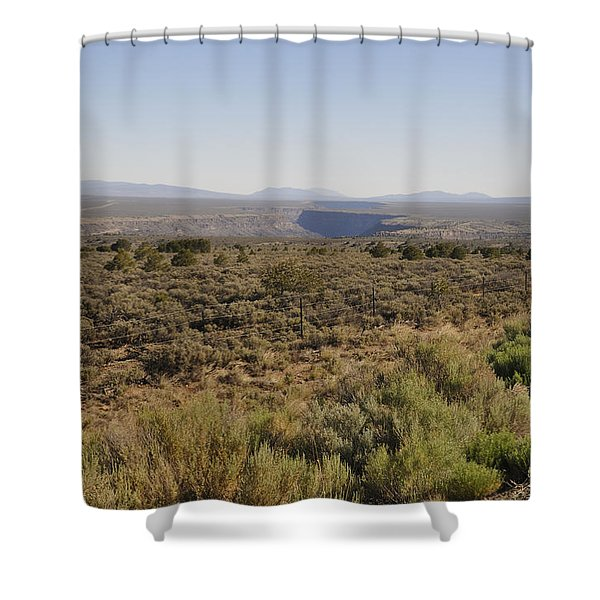 The Gorge On The Mesa Shower Curtain