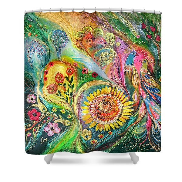 The Levant Village Shower Curtain