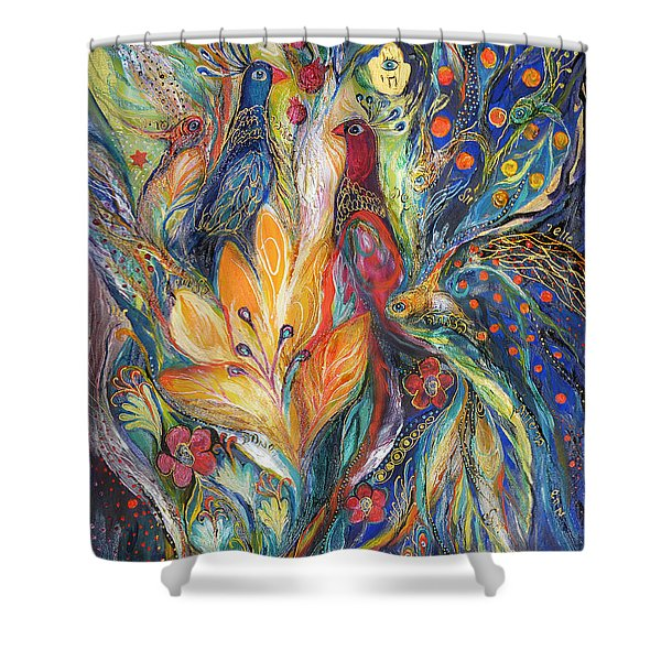 The Melody Of Love Shower Curtain