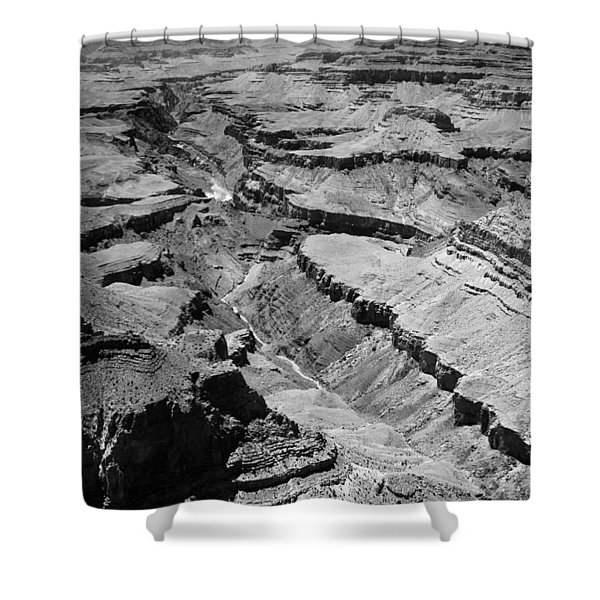 The Mighty Colorado Shower Curtain