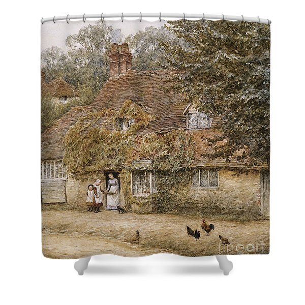 The Old Fish Shop Haslemere Shower Curtain
