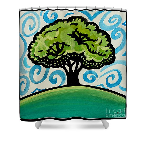 The Only Remaining Vestige Shower Curtain