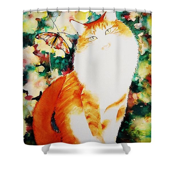 The Persian Boy Shower Curtain