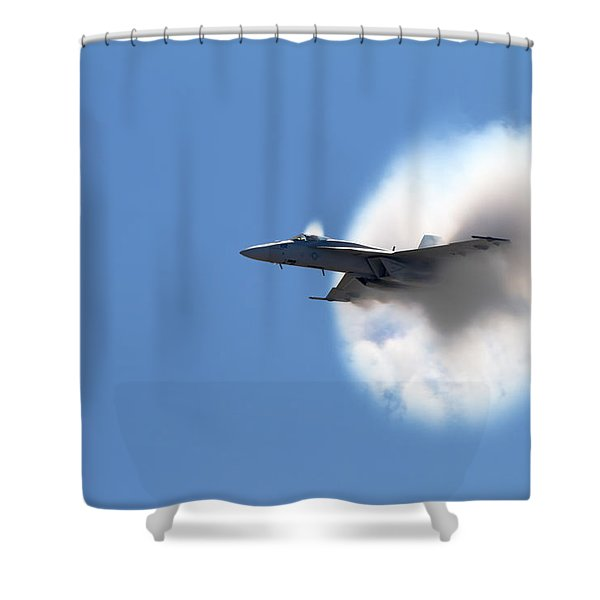 The Speed Of Wow Shower Curtain